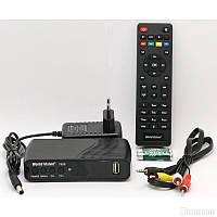 Тюнер Т2 цифровой World Vision T62D - Т2 Тюнер DVB-T2 IPTV