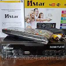 Цифровой тюнер Т2 Mstar M-5673 цифровой DVB-Т2 ресивер, фото 3