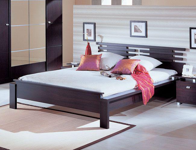 """Двухспальная кровать из дерева """"Кочанжи"""""""
