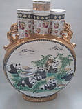 Ваза Три горла керамічна 56 см Китай, фото 3