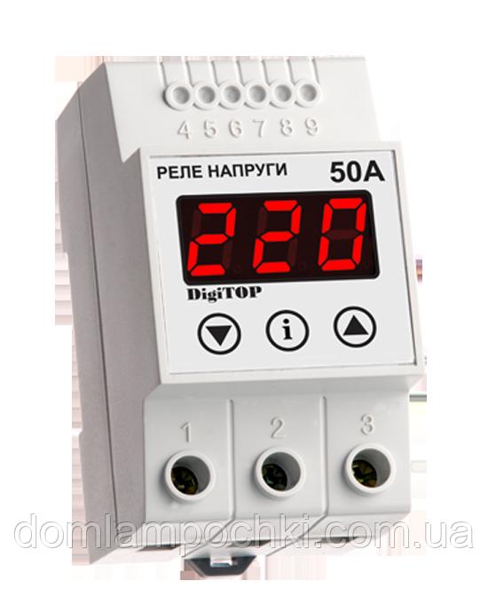 Реле напряжения DigiTop Vp-50A DIN