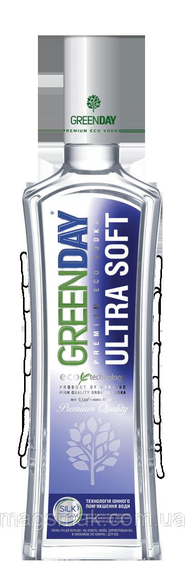 Водка особая Green Day Ultra Soft 0.5л