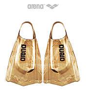 Короткие ласты с открытой пяткой Arena PowerFin PRO (Gold)