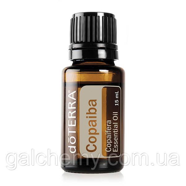 Copaiba (Copaifera reticulata, officinalis, coriacea и langsdorffii) / Копайба, эфирное масло, 15 мл