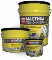 Мастика битумно-каучуковая №21 (Техномаст) (20 л)