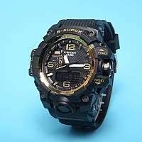 Копія   Часы спортивные Casio G-Shock GWG-1000 Black-Gold(реплика)
