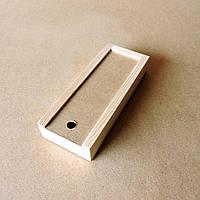 Пенал деревянный Ландыш 10х25х4см