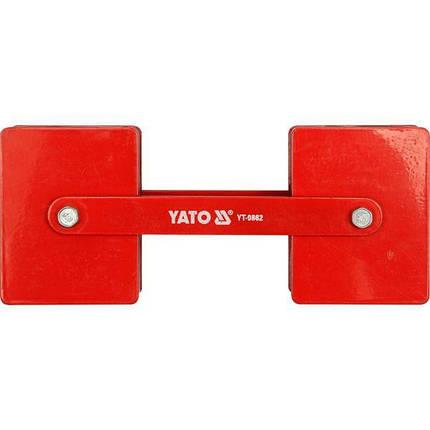 Регулируемый магнит заварки угла, YT-0862 YATO, фото 2