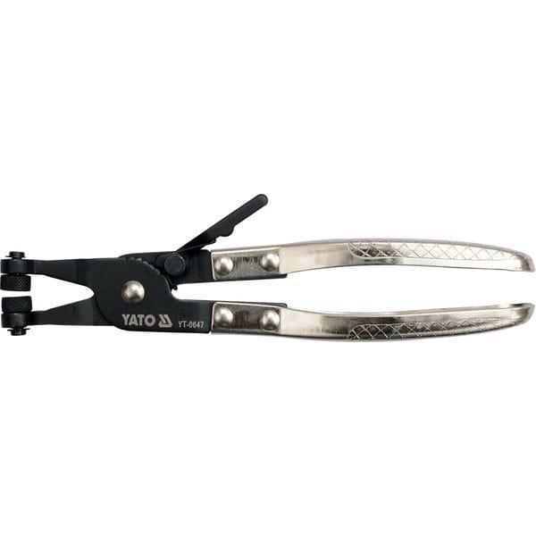 Щипцы для шлангових хомутив, l= 215 мм, губ. d= 4. 5 мм, YT-0647 YATO
