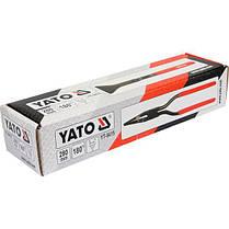 Клещи прямые 60мм с угловой функцией, YT-5415 YATO, фото 2