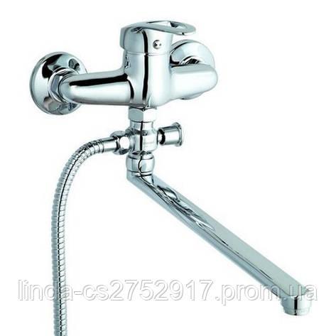 Ванна смеситель LOP-С043 Zegor, купить в Одессе смеситель для ванной, фото 2