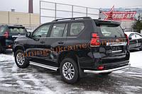 Защита задняя d76 Союз 96 на Toyota Land Cruiser Prado 150 2018 (эксклюзив TMR )