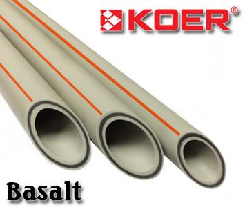 Полипропиленовая труба Koer Базальт стекловолокно 20х3,4