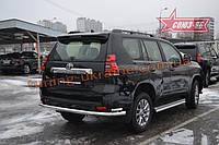 Защита задняя d76/42 двойная Союз 96 на Toyota Land Cruiser Prado 150 2018 (эксклюзив TMR )