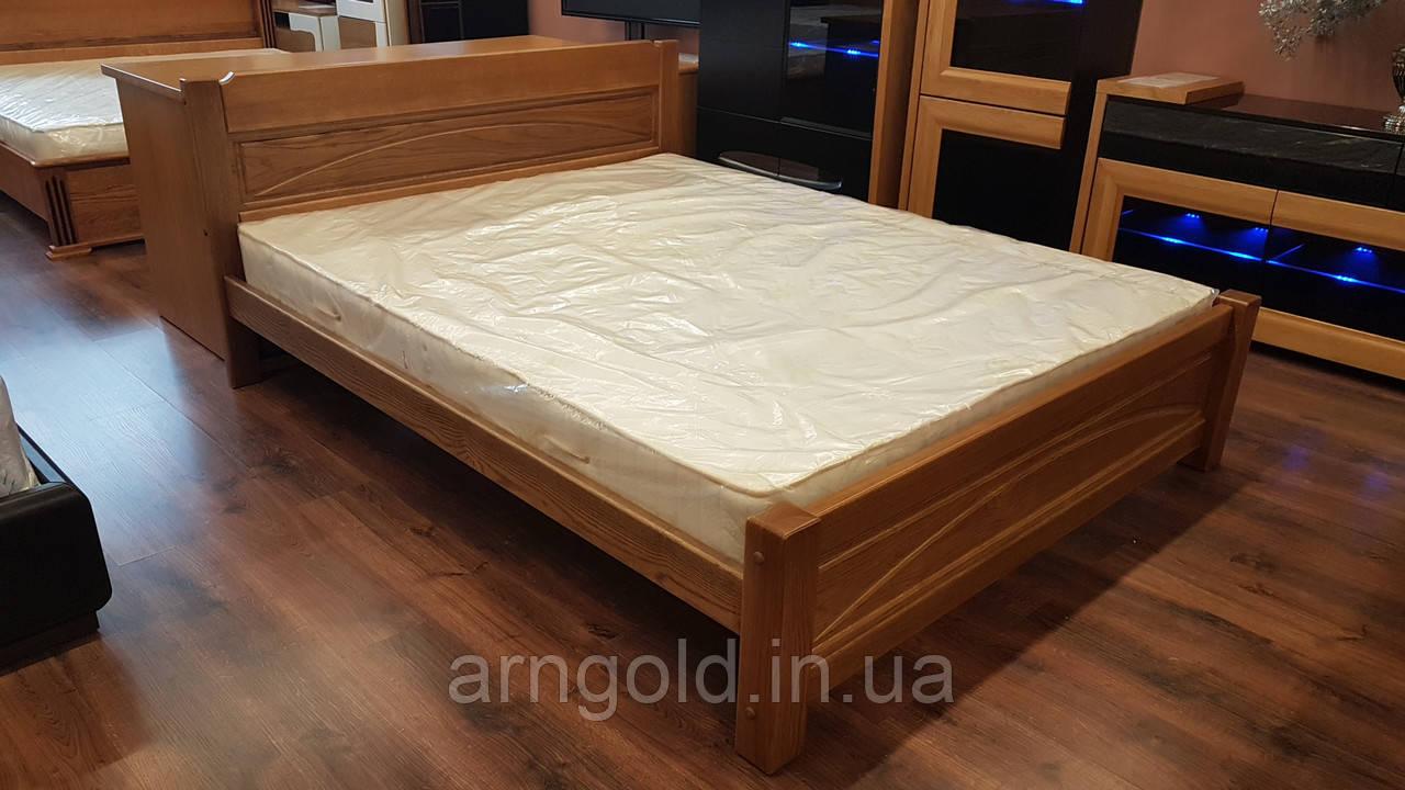 Кровать деревянная массив дуба 100%. Arngold