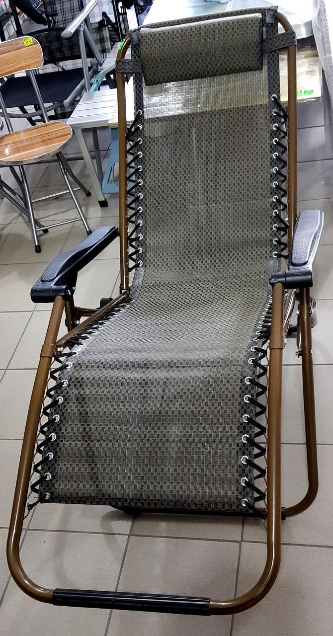 Кресло-шезлонг раскладной с регулируемым наклоном  мод-115