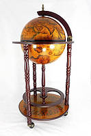 Напольный глобус-бар Jia Fo Древний мир 33001 R
