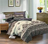 Двуспальный комплект постельного белья 180*220 сатин tm криспол