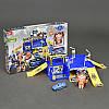 Детский игровой Гараж Тобот, 1 машинка, 1 робот-трансформер, 2 этажа,  в коробке