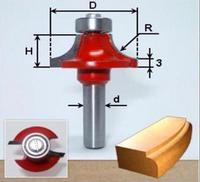 0401 (D14 H5 R2) Фреза радиусная (галтельная, кромочная, калевочная)