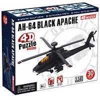 Пазл конструктор Модель ударного вертолета AH 64 Апач