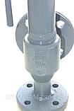 Клапан предохранительный пружинный фланцевый СППК 4Р Ру16 Ду50/80 (Украина), фото 10