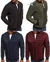 Мужская синтепоновая куртка/бомбер 4 цвета в наличии