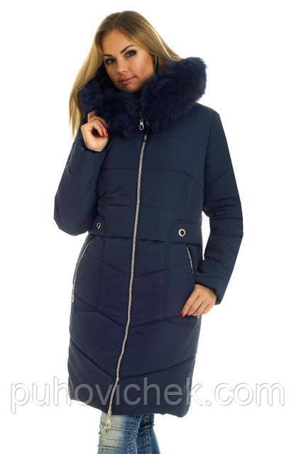 Молодежная зимняя куртка женская Украина