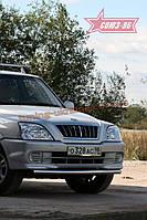 Защита переднего бампера d 60 Союз 96 на Тагаз Road Partner