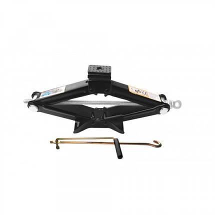 Домкрат механический ромб, 1.5т, h min-110 мм, h max-393 мм, L-415 мм переменная резиновая накладка, RF-105B ROCKFORCE, фото 2