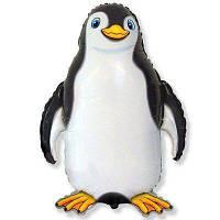 """Фольгований куля Б/Ф """"Пінгвін чорний"""""""