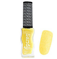 Лак с эффектом песка Konad Sandy Nail Polish Pastel Yellow 9.5 мл