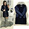 Женское модное пальто кашемир 42-48