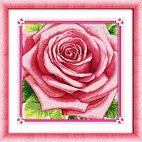 """Набор для рисования камнями (холст) """"Роза"""" LasKo TK037 (55х55 см), фото 1"""
