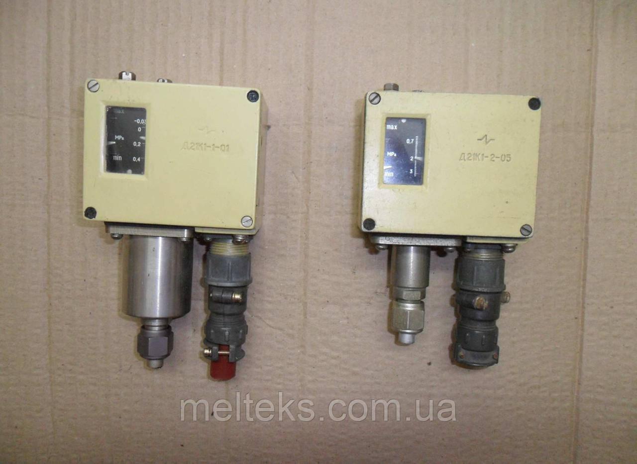 Реле давления Д21К1-1-01, Д21К1-2-05