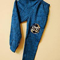 Спортивные брюки 5-8 лет с начесом, фото 1