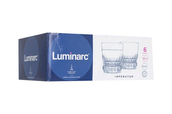 Набор низких стаканов LUMINARC IMPERATOR 6X300 мл (N1287), фото 2