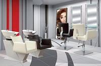 Комплект парикмахерской  мебели в салон Orlando, фото 1
