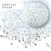 Стразы Crystal Pixie, Crystal, 1,1 мм, 0,5 гр