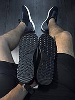 Кроссовки легкие мужские полностью черные , фото 3