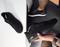 Кроссовки легкие мужские полностью черные , фото 2