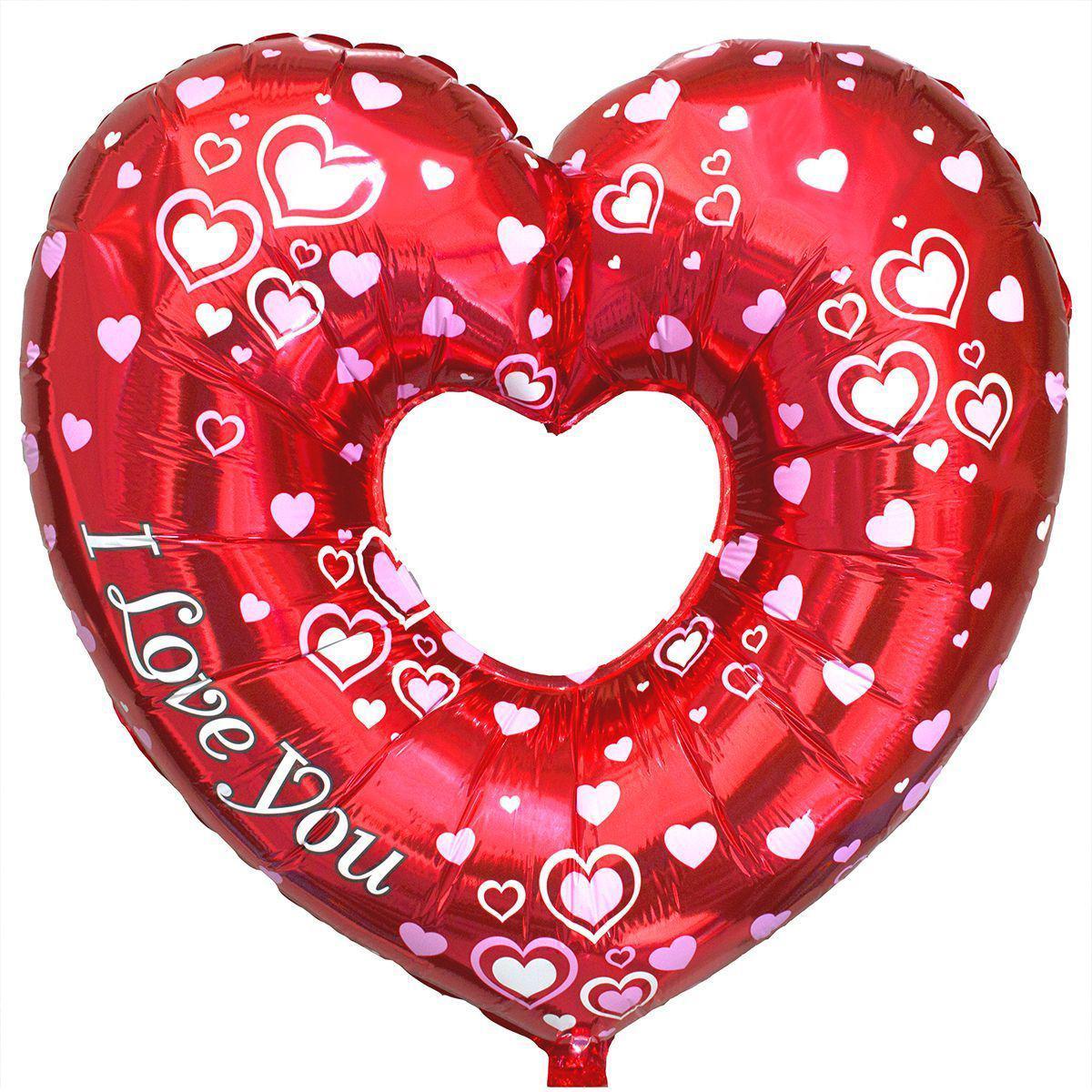 """Фольгований куля Б/Ф """"Чудова серце"""""""