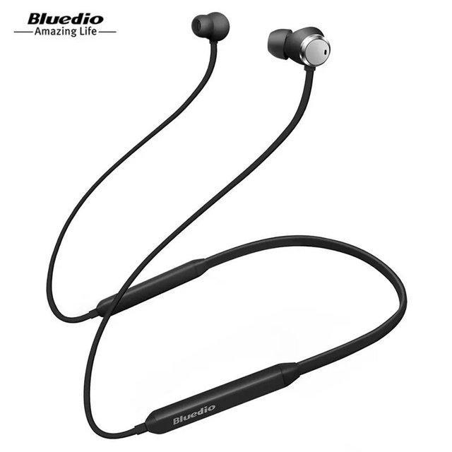 Беспроводные влагозащищенные стерео наушники - гарнитура Bluedio TN Active Black