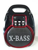 Колонка-комбік GOLON RX-820 BT Bluetooth + MP3, радіомікрофон, пульт, світломузика