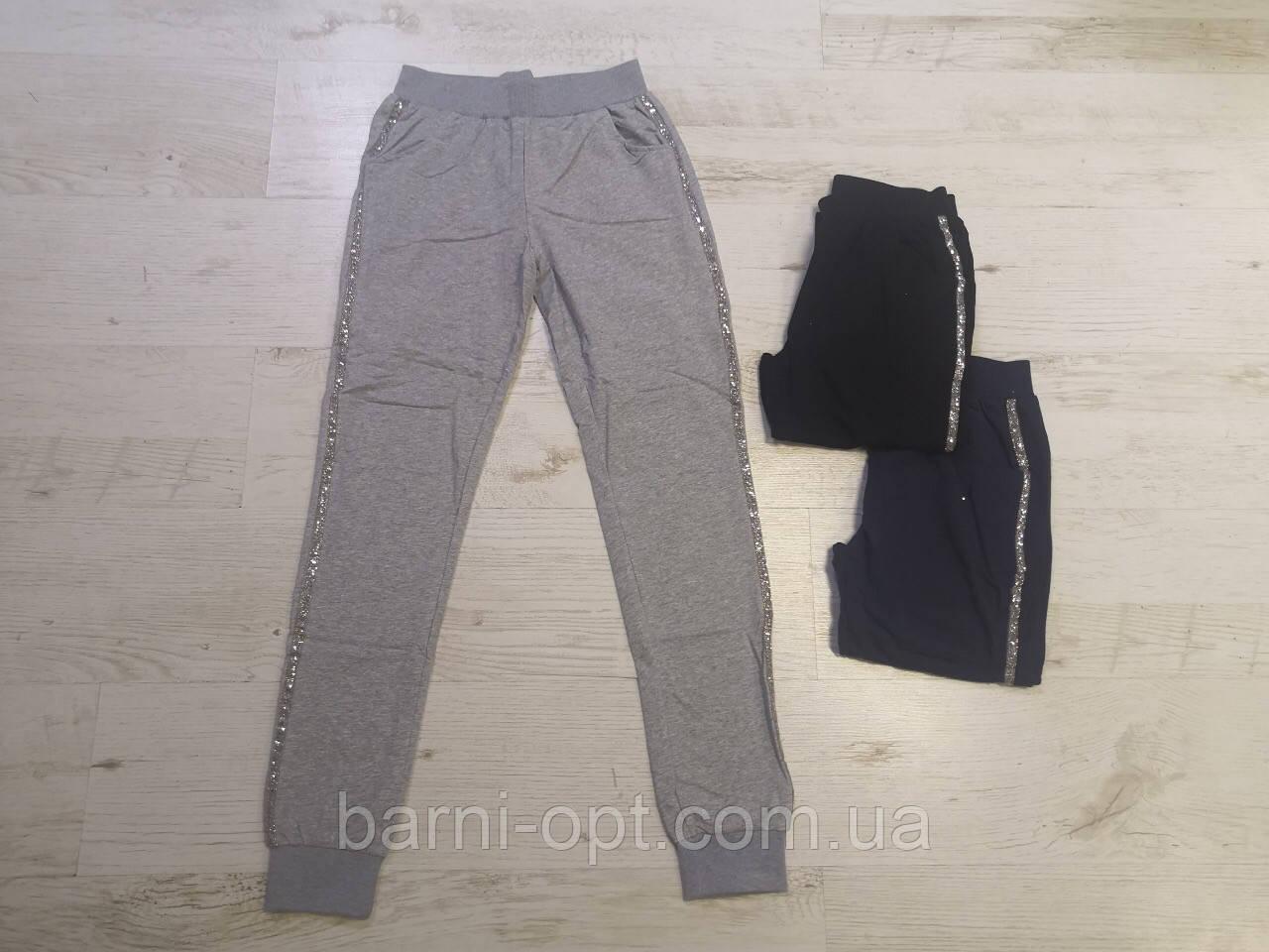Спортивные брюки для девочек оптом, Seagull, 134-164 рр