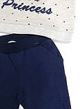 Костюм спортивный для девочки ТМ Breeze трикотаж размеры 80,86,92,98,104 Турция, фото 2