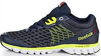 Мужские кроссовки Reebok Sublite Running Blue/Green Рибок в стиле синие/зеленые