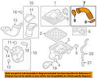 Патрубок корпуса воздушного фильтра выпускной к дросселю GM OPEL Astra-J & CHEVROLET Cruze Orlando 1.6 & 1.8, фото 1