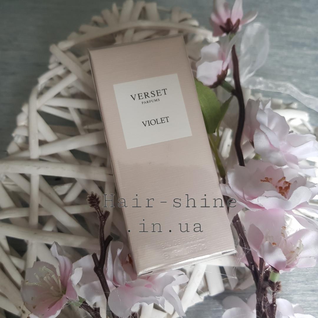 парфюмированная вода Verset Violet аналог Alien Thierry Mugler 15