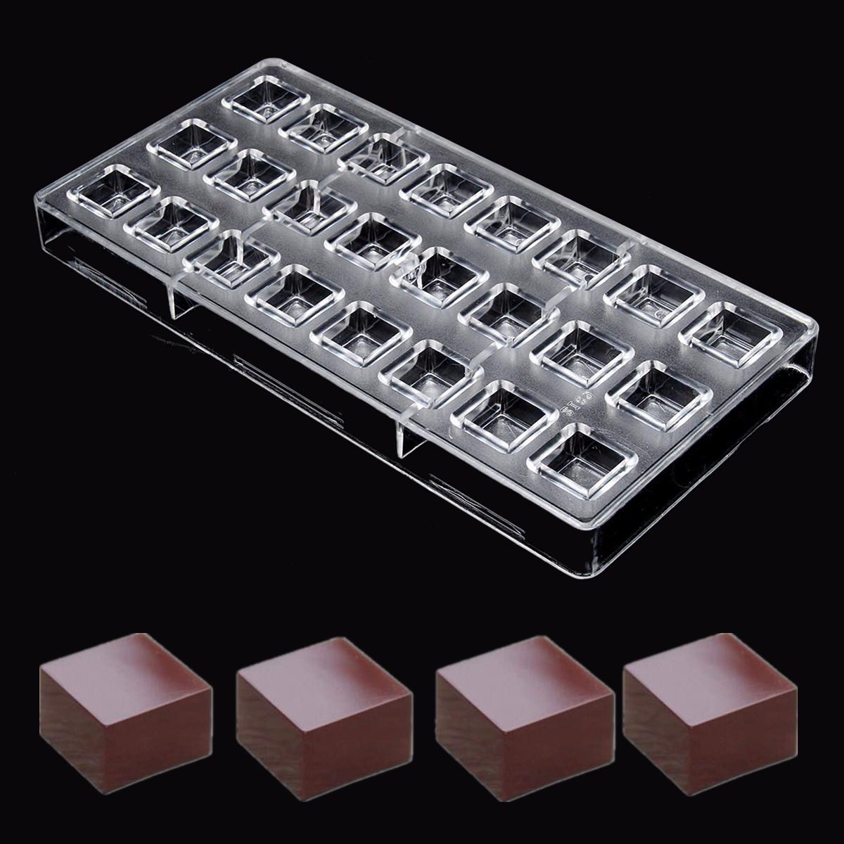 Форма для шоколада кубики.
